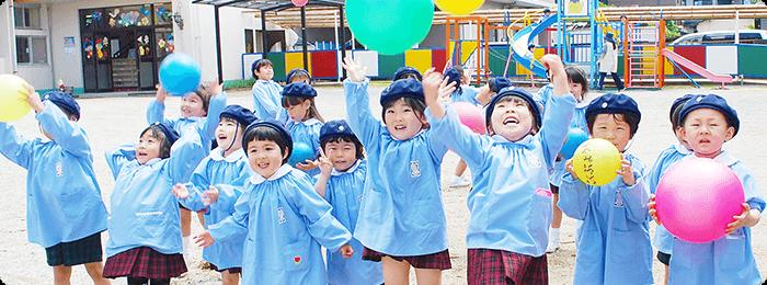 国分幼稚園 園の様子