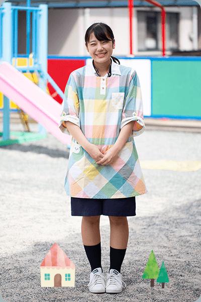 髙木 沙也加先生 勤続 3年目 サンクラス(5歳児クラス)