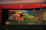 パレット人形劇団「さるかに合戦」上演の写真