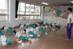 組体操発表会(年長)の写真