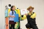 テッバタさんのマジックショーの写真